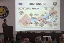 Ve dnech 15. a 17. ledna se na 22. základně vrtulníkového letectva Sedlec, Vícenice u Náměště nad Oslavou uskutečnila hlavní plánovací konference ke cvičení Dark Blade 2019.
