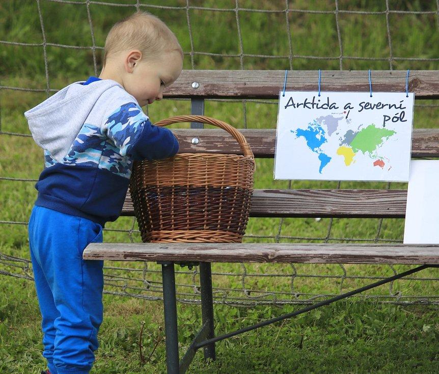 Dětské odpoledne aneb Číměř pupkem světa.