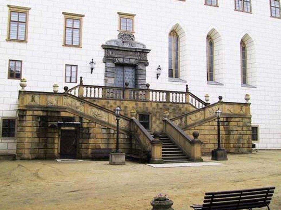 Zámek v Náměšti nad Oslavou.