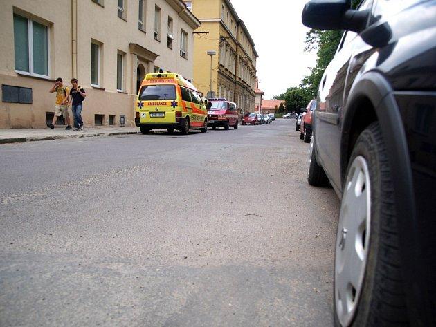 Parkování v Tovačovského sadech