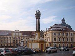 Radnice v Jaroměřicích nad Rokytnou na Třebíčsku připravuje opravu barokního sloupu a sousoší Nejsvětější Trojice v centru města naproti zámku.