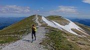 Běh 230 km: Třebíč - Schneeberg.