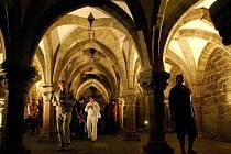 Nejvíce filmaře láká krypta třebíčské baziliky.