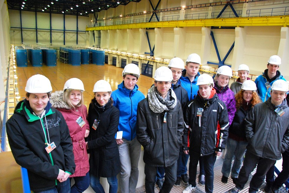 Účastníci 9. ročník jaderné maturity.