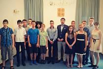 Třebíčská radnice ocenila nejlepší žáky základních škol.