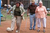 Místní třebíčská organizace Svazu tělesně postižených v České republice pořádala Sportovní hry.