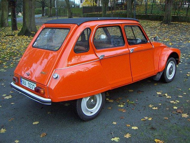 Citroën Dyane Lukáše Skalky