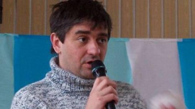Kreslíř a karikaturista Štěpán Mareš.