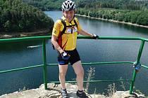 Vášnivý cyklista Jiří Vlach z Benetic na Třebíčsku.
