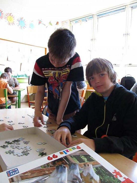 Děti zažívaly pocit z úspěchu. A právě to je podstata Dyslektické olympiády, kterou v úterý pořádala třebíčská ZŠ Kpt. Jaroše již podvanácté.