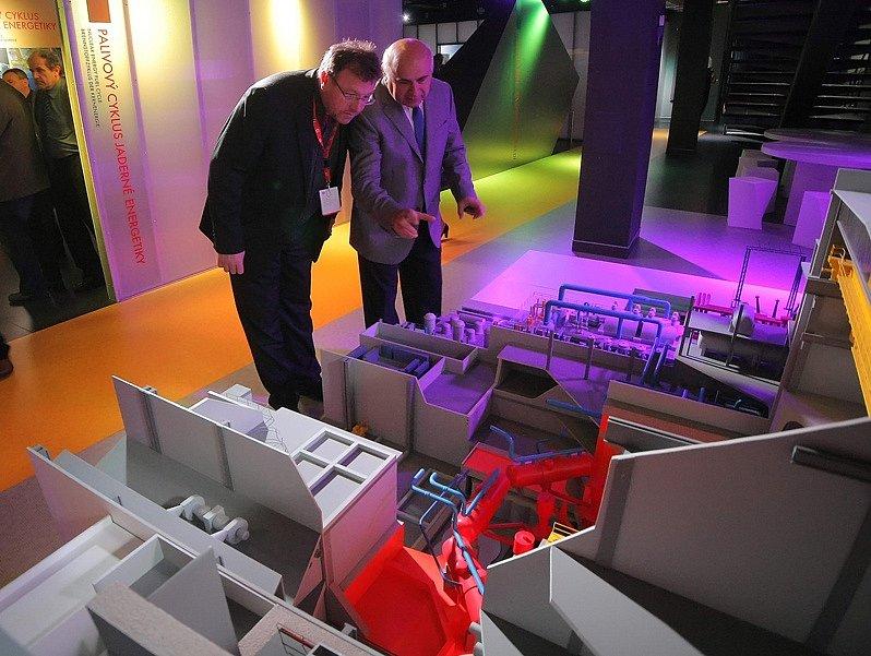 Nové informační centrum Jaderné elektrárny Dukovany