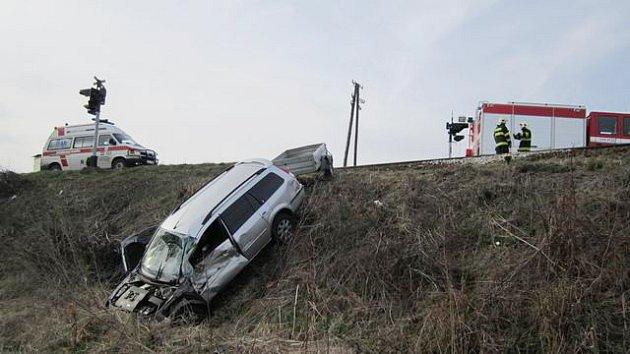 Nehoda u Bohušic.