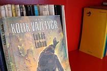 Červená knihovna přibyla v rámci projektu také v budově vlakového nádraží v Třebíči. Lidé si tam mohou vzít knihy nejrůznějších žánrů.