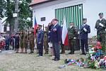 V Dolních Vilémovicích uctili památku plk. Jana Kubiše.