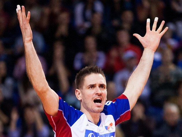 Odchovanec Velkého Meziříčí Martin Kryštof patří v české volejbalové reprezentaci k tahounům.