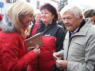 Jiří Brady v Novém Městě na Moravě