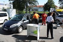 V rámci preventivně dopravní akce si mohli nechat řidiči zdarma zkontrolovat technický stav svého motorového vozidla