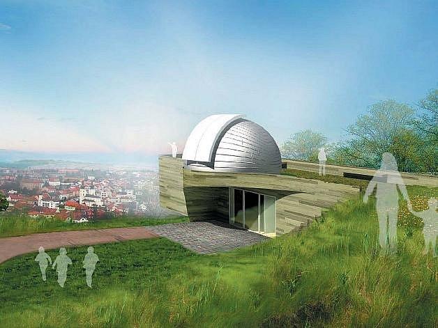 Objekt na vrcholu kopce Hora by měl kromě jiného skýtat i zajímavý výhled na město.