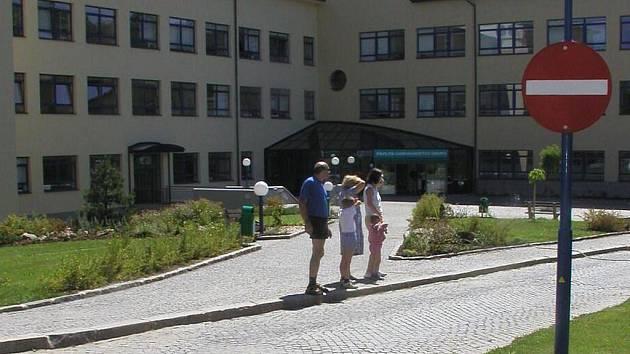 Novoměstská nemocnice, hlavní areál.