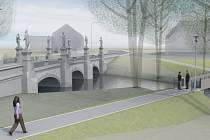 Žďárané a turisté si budou moci prohlédnout barokní most ve žďárské místní části Zámek také z druhé strany. Díky plánované pěší lávce od restaurace Táferna.