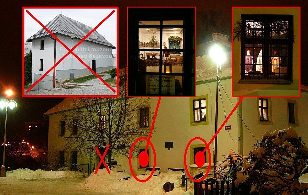 Regionální muzeum města Žďáru nad Sázavou nabídlo muzejní okénka.
