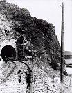 Kácovský tunel.