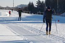 Vysočina aréna je momentálně poslední místo na Žďársku s tratěmi pro běžecké lyžování.