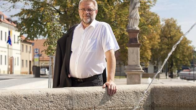 První muž velkobítešské radnice Milan Vlček.