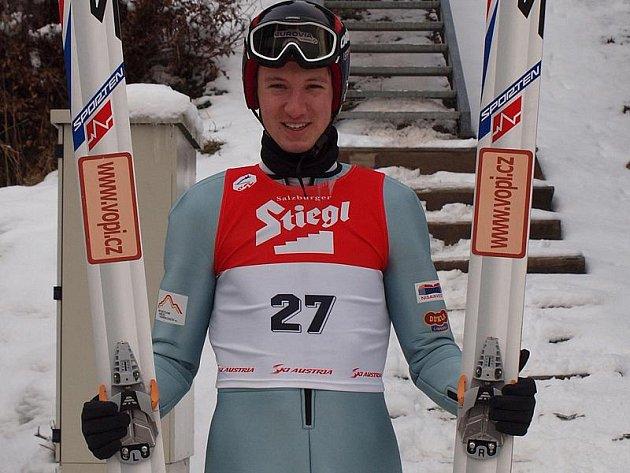 Petr Kutal v Bischofshofenu.