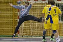 Gólman extraligové Dukly Praha Tomáš Suchý podepsal roční smlouvu v prvoligovém Novém Veselí. V klubu by se měl stát jasnou jedničkou.