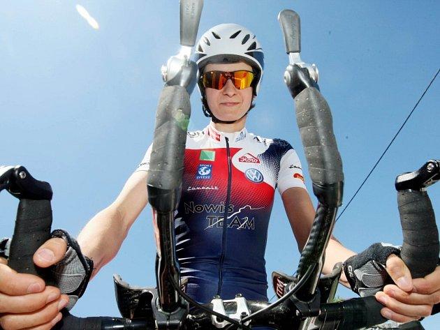 Rychlobruslařská šampionka Martina Sáblíková znovu dokázala, že je i zdatnou cyklistkou.
