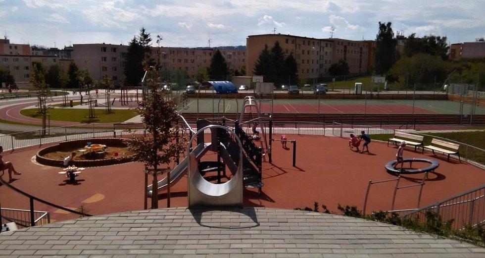 Sportovní areál Třebíč – Borovina, ul. Okružní