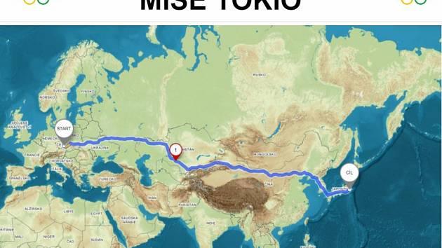 Pěšky, na kole či na kolečkových bruslích …. aneb celoškolní cesta do Tokia