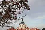 Kostel sv. Jana Nepomuckého na Zelené hoře.