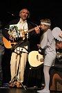 Písně z nového CD byly poprvé představeny novoměstskému publiku v roce 2015, kdy s dětmi secvičil vánoční příběh Zdeněk Novotný Bričkovský (na fotografii vlevo).