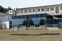 Rekonstrukce pavilonu interny v novoměstské nemocnici.