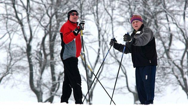 Strojově upravované lyžařské běžecké trasy na Novoměstsku vedou severovýchodně od Nového Města na Moravě a procházejí územím pětadvaceti obcí a osad.
