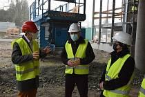 Vítězslav Schrek navštívil Domov pro seniory v Mitrově i třebíčskou nemocnici.