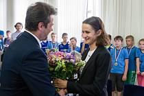 Nositelkou první Ceny města Žďáru nad Sázavou je Martina Sáblíková.