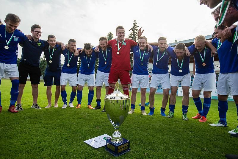 Fotbalisté Nové Vsi u Nového Města na Moravě jsou vítězi letošního ročníku krajského poháru Vysočiny.