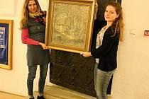 Horácké muzeum má nový přírůstek - obraz nazvaný Vodník od místního rodáka.