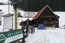 Skiareál v Novém Jimramově.
