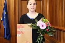Studentka VŠPJ Hana Balabánová v listopadu pomohla pánovi, který kolaboval.