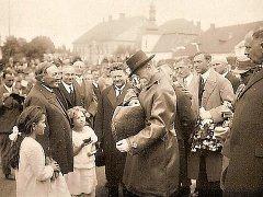 Návštěva Tomáše Garriqua Masaryka se v Novém Městě na Moravě uskutečnila 17. června 1928.