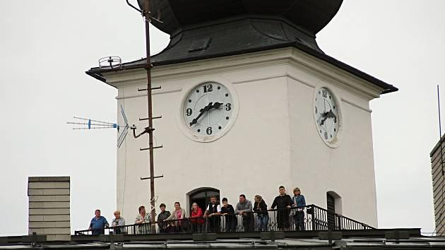 Na konci srpna bude věž kostela zpřístupněna naposledy