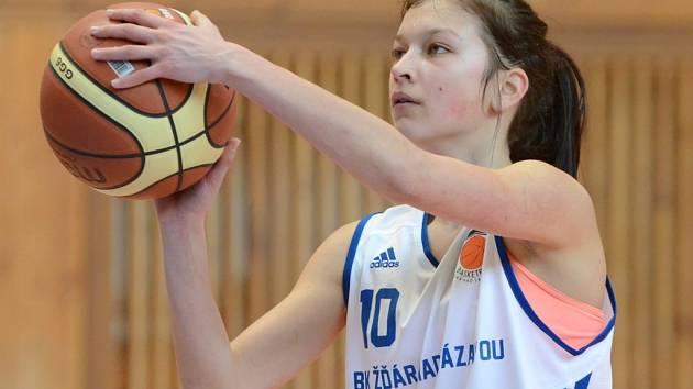 Nejlepší střelkyní Žďáru v kvalifikačním dvojzápase se Studánkou Pardubice byla Lada Štěpánková.