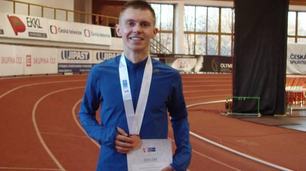 Lukáš Kourek vybojoval na republikovém šampionátu třetí místo.