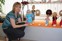Panenky jsou vystavené ve žďárském butiku Dany Dobřichovské.