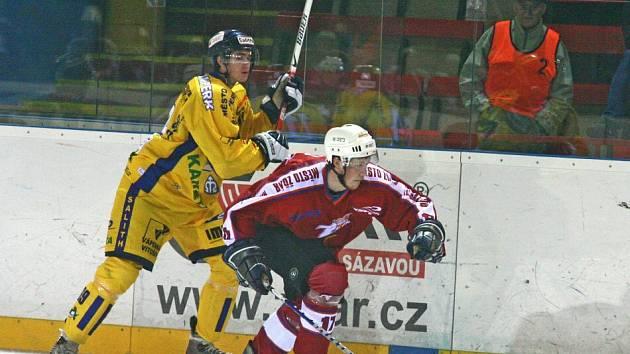 Hokejisté Žďáru už dva zápasy v řadě bodovali naplno. Na domácím ledě by proti Prostějovu měli potvrdit vzrůstající formu.