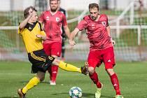 Jak na fotbalisty Bystřice (v červeném), tak i Ždírce nad Doubravou (ve žlutočerném) čekají v průběhu června přípravné duely.